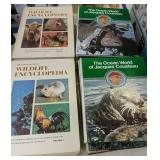 The Ocean World Of Jacques Cousteau Books, The