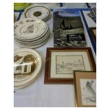 John Mole Prince, Church Plates, Chesapeake Bay