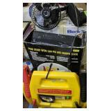 Battery Jump Starter With Air Compressor, Fan,