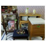 Side Tables, Stool, Bedazzler, Alarm Clock,