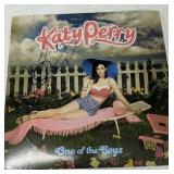 Autographed Katy Perry One Of The Boys Album