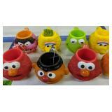 8 Sesame Street Applause Mugs