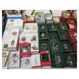 Christmas Ornaments. Hallmark Keepsake,