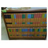 Bookshelf With Britannica Great Books