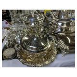 Sterling Silver Vase, Creamer Sugar Base,