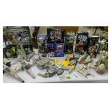 Collection Of Star Wars Action Figures, Vehicles