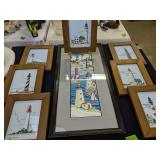 Lighthouse Needlepoint Pictures