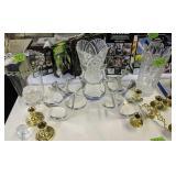 Candlewick Champagne Bucket, Vases, Ducks