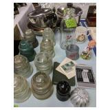 Revere Ware Cookware, Lewes Dairy Eggnog Bottle,