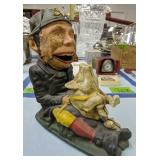Paddy The Pig Collector Mechanical Coin Bank