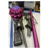 Purple Dyson Svo4 Battery Operated Vacuum Cleaner