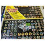 Topps 1989 Baseball Coins Complete Set