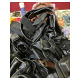 Box Lot Gun Holsters, Gun Belts, Cloth Doll
