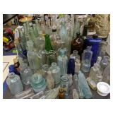 Collection Of Dug Bottles Etc