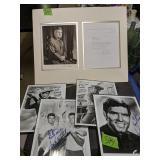 Autographed Photographs, Curtis E Lemay