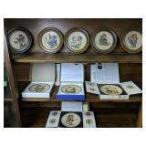 9 Hummel Plates. 1972-1980