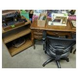 Singer Sewing Machines, Office Chair Etc