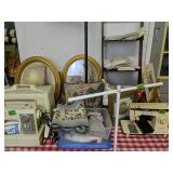 Table Lot Nelco Sewing Machine, Singer Sewing