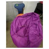 Exercise Ball Chair, Purple Big Joe Bean Bag Chair