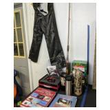 Sz 32 X Element Leather Chaps, Paintball Gun, Kurt