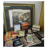 Framed Art, Books. Holy Grail, Mythical