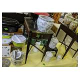 Table Lot Steps, Side Tables, Walk, Canister