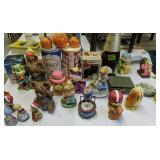 Figurines, Florida Ceramic Orange, Busch,