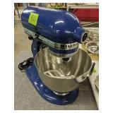 Blue Kitchenaid Ksm90 Mixer