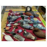 Assortment Of Small-miniature Duck Decoys