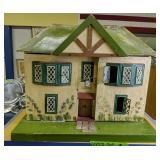 Moritz Gottschalk? Furnished Dollhouse Tin Windows