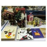 Walt Disney Books, Nancy Drew Books, Santa Claus