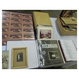Photos, Mars Pathfinder Uncut Stamps, Bible Etc