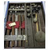 Antique Ice Fishing Tip-ups Kit