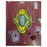 "Tray Lot Jewelry.14k Gold 8"" Bracelet 3dwt,"
