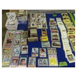 Collection Of Baseball And Football Cards.