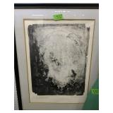 Inscribed Lithograph 29x37