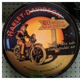 "15"" Harley-davidson Gas Globe Style Light"