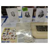 Art Craft Stamp Coat Vintage Prints, Alex Dove