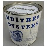 Huitre Oysters 1 Gallon Oyster Can Madison