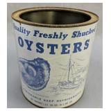 Madison Seafood Maryland 1 Gallon Oyster Can