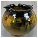 """4"""" Rookwood Pottery 911 Vase Pinched Top Mm Cipher"""
