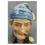 Toby Figueral Biscuit Jar Man Smoking A Pipe 571