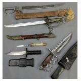 Machete, Decorative Dagher, Stiletto Folding