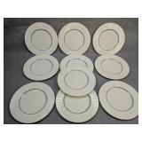 10 Lenox Priscilla Dinner Plates