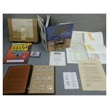 Desert Storm Coin Collection, Books, Map Etc