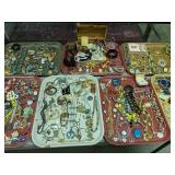 Showcase A Lot Of Costume Jewelry. Preview A Must