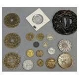 Foreign Coins, Tokens, Samurai Sword Tsuba, 1979