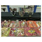 Showcase Lot Of Costume Jewelry. Jewelry