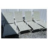 4 Chaise Lounge Chairs