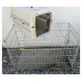 "Pet Carrier, Medium-sized Dog Crate 42x23x27"""